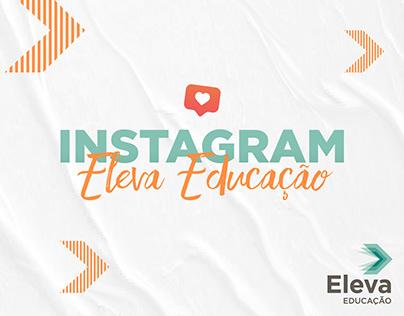Instagram Eleva Educação | Idealização