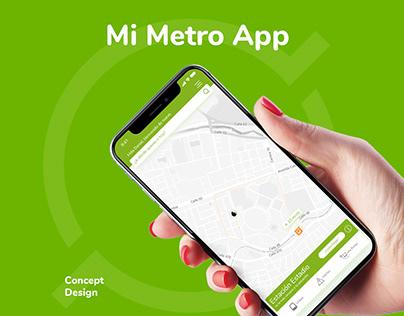 Mi Metro App   Concept Design