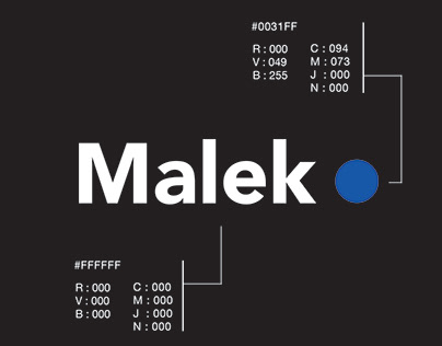 Site web Malek