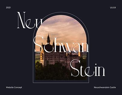 Neuschwanstein Castle Website Concept