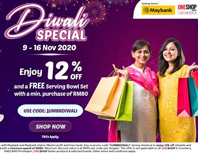 ONESHOP X Maybank Diwali Celebration