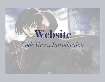 Website  |  Code Geass Introduction