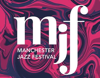 Manchester Jazz Festival Rebrand