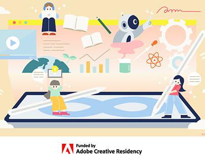 AI illust&Instruction Adobe Education Forum Online 2021