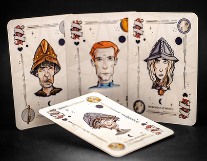 Discworld Custom Playing Cards