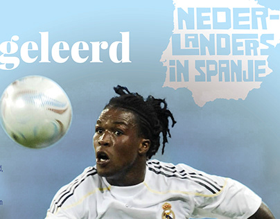 Page for Dutch football mag Voetbal International (VI)
