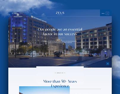 Zeus.International Website