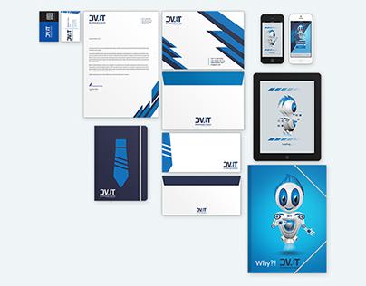 DVIT Logo & Corporate Identity - Redesigned