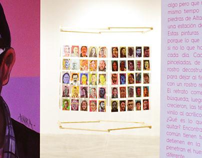 Estructura Exposición de Arte