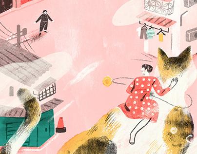 我媽的寶就是我 |Book Covers Illustration