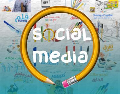 social media pens