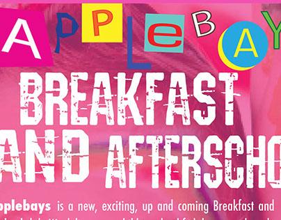 Applebays Afterschool Leaflet