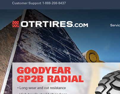 OTR Tire Company Website