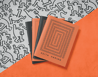 KEITH HARING || BRAND IDENTITY