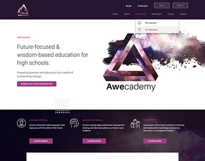 Awecademy - Site redesign
