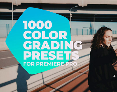 1000 Cinematic Color Grading Presets for Premiere Pro