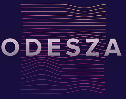 Type 2 - Poster Series // ODESZA
