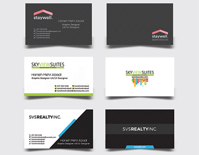 Business Card Samples / Rentals in Toronto