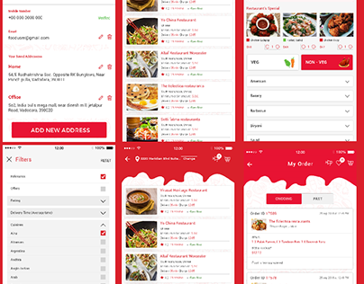 Food Ordering and Delivery Mobile App