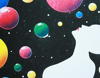 Color Space / Riso Print