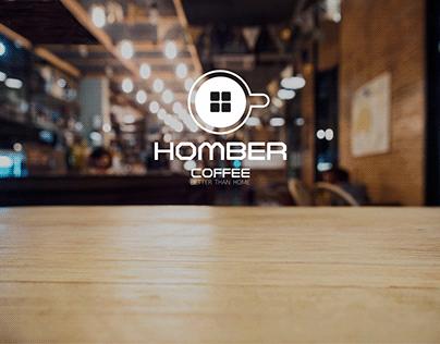 Логотип для кофейни Homber