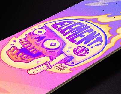 FLAMIN' DECK   Element Skateboards