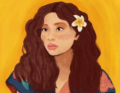 Sunshine Portrait