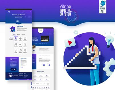 """Site label """"Vitrines Industrie du Futur"""""""