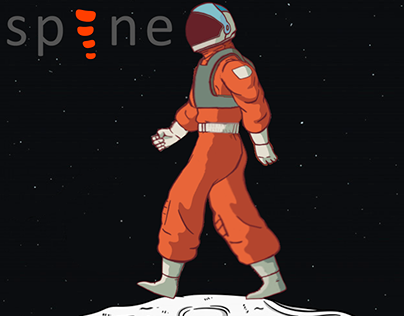 Astronaut character animation