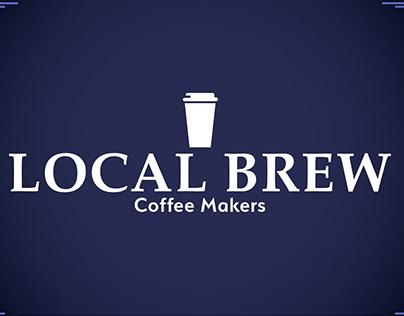 Local Brew - Coffee Makers Brand & Web Design