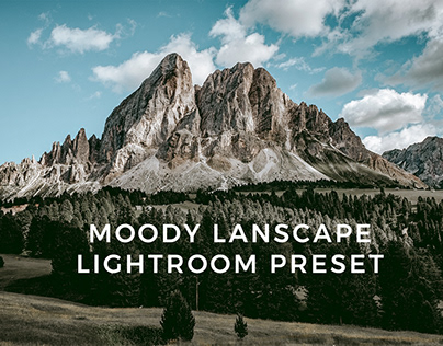 MOODY LANDSCAPE LIGHTROOM PRESET