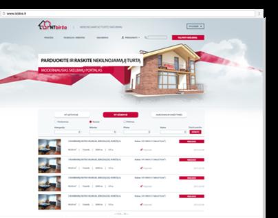 Various web design 2012-2014