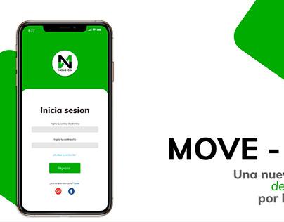 MOVE - ON APP Mobile