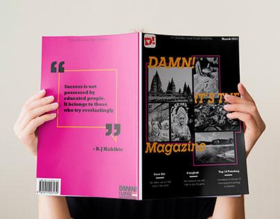 Magazine Design for D!