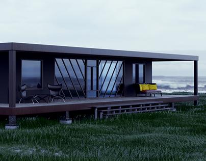 Seasonal house