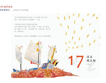 東港迎王平安祭 _ 平面視覺插畫設計