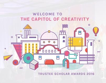 Capitol of Creativity - Trustee Scholar Awards 2016