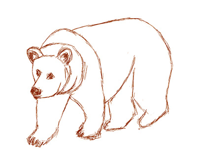 Brown Bear and other animals