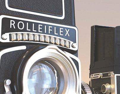 Rolleiflex 3D model
