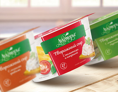 Lucomore–cream cheese packaging