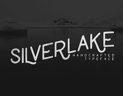 Silverlake - Handcrafted Typeface