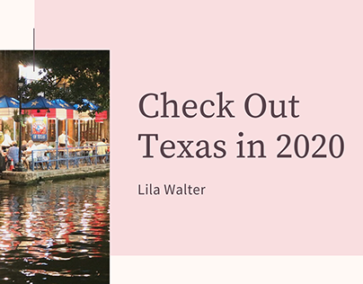 Check Out Texas in 2020