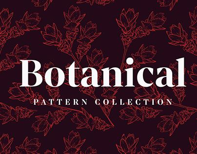 Botanical Pattern Collection
