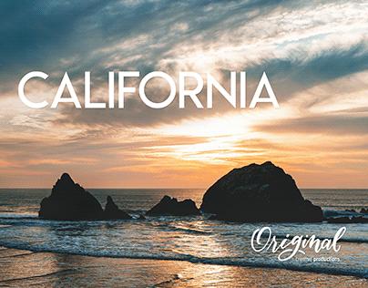 I love you... California