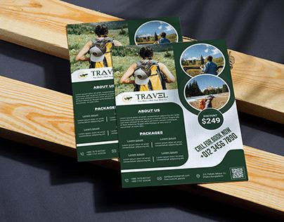 Travel Business Flyer Design