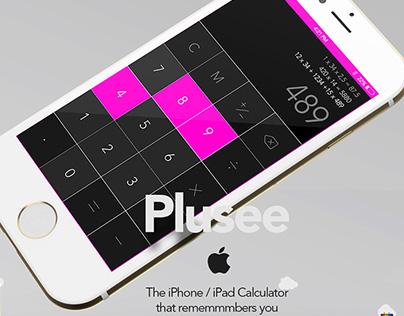 Plusee Calculator iOS App