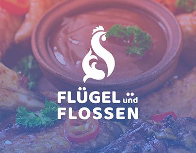 Flugel & Flossen   Logo   branding   identity