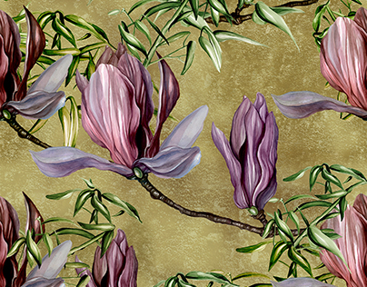 Magnolia Pattern Design