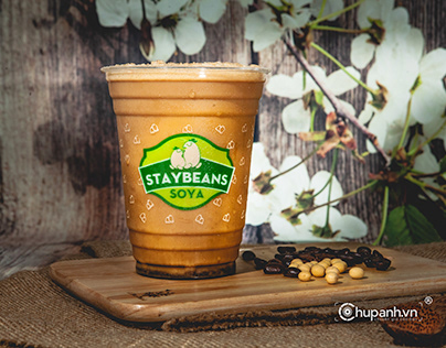 Chụp ảnh trà sữa Staybeans Soya
