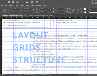 Layout Grids Structure